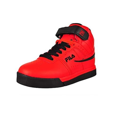 Fila Kids Vulc 13 MP Sneaker (Little Kid),RED/NAY