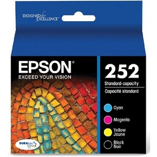 Epson Print T252120-Bcs Durabrite Ultra Black/Color Combo Standard Capacity Cartridge Ink