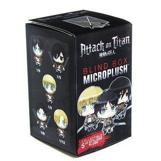 "Attack on Titan Blind Boxed 3"" Microplush"