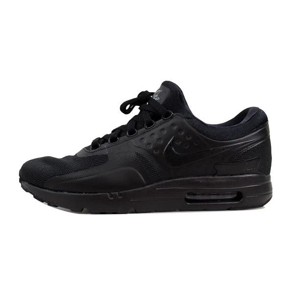 buy popular f7302 67e7d Shop Nike Men's Air Max Zero Essential Black/Black876070-006 ...