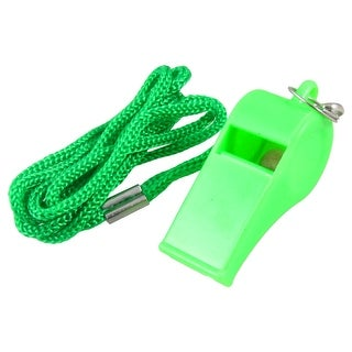 Light Green Outdoor Athletic Sports Coach Referee Plastic Sound Whistle