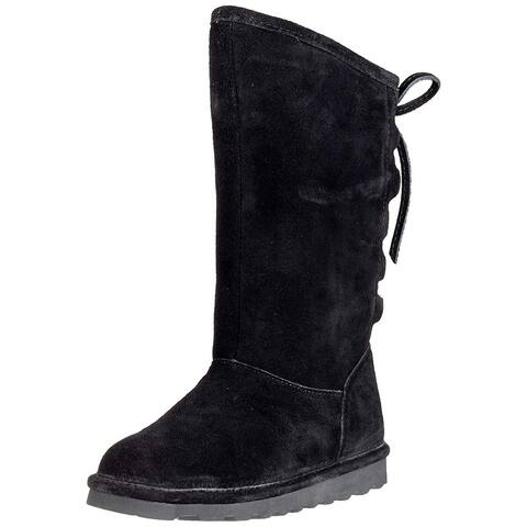 Bare Traps Womens Phylly Suede Closed Toe Mid-Calf Cold Weather Boots