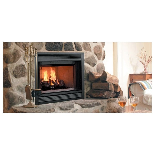 Shop Majestic Sa42c 42 Wide Heat Circulating Built In Wood Burning