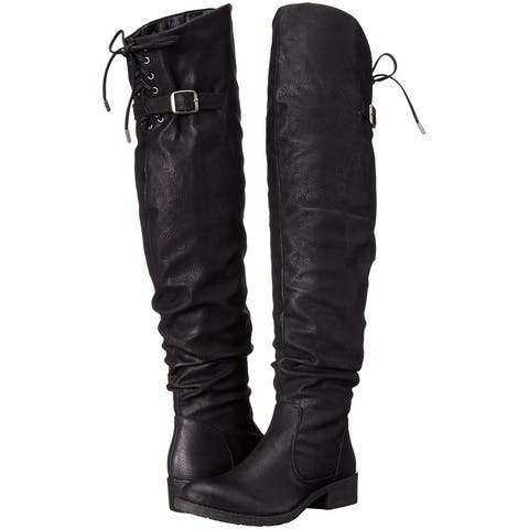25a250ce74 Buy Over-the-Knee Boots, Black Women's Boots Online at Overstock ...