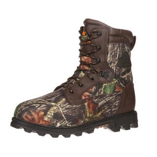 Rocky Outdoor Boots Boys Bearclaw WP Insulated Mossy Oak