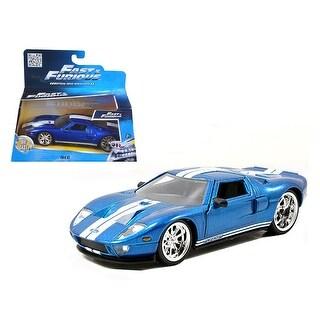 Ford GT Blue Fast & Furious Movie 1/32 Diecast Model Car by Jada