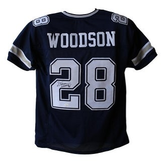 Darren Woodson AutographedSigned Dallas Cowboys Blue XL Jersey JSA