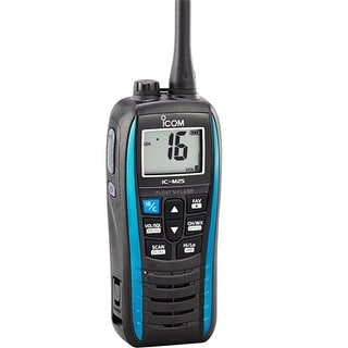 Icom Floating VHF - 5W - Marine Blue Floating VHF