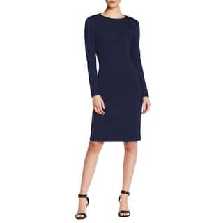 Betsey Johnson Long Sleeve Textured Knit Sheath Dress|https://ak1.ostkcdn.com/images/products/is/images/direct/09fead34c02f68eb87d57c80105506226a97eadc/Betsey-Johnson-Long-Sleeve-Textured-Knit-Sheath-Dress.jpg?impolicy=medium