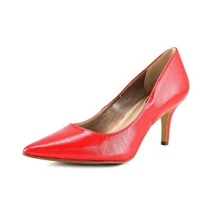Alfani Jeules Women Pointed Toe Synthetic Red Heels