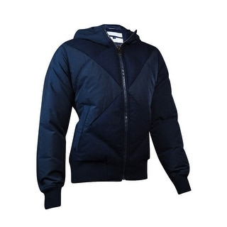 Tommy Hilfiger Men's Quilted Bomber Jacket (L, Midnight) - L