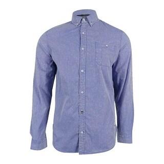 Buffalo David Bitton Men's Cotton Savino Shirt - faded mirage