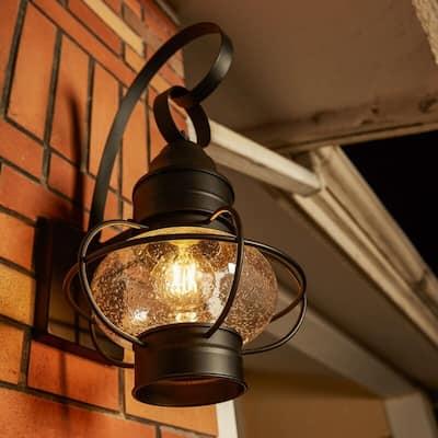 """1- Light Outdoor wall Light - 9""""x10.72""""x17.51"""""""