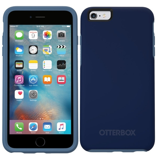 new concept 0f32c f1dff Shop OtterBox Symmetry Series iPhone 6/6s Case Admiral Blue/Dark ...