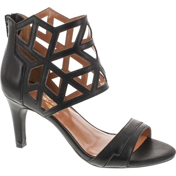 Aerosoles Women's Salamander Dress Sandal - Black leather