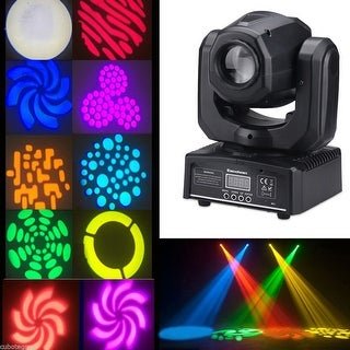 Excelvan 30W RGBW Mini LED Moving Head Spot Light DMX DJ Club Party Stage Light