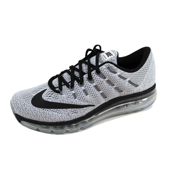 637ddc5328 ... Men's Athletic Shoes. Nike Men's Air Max 2016 White/Black 806771 -101