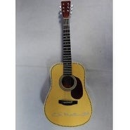 Signed Martin CF Limited Edition Gartlan Mini Porcelain D45 Guitar 15 Scale with Original Box and G