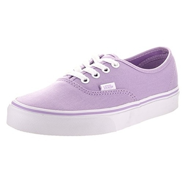 eb687202b4 Shop Vans Unisex Authentic Skate Shoe - lavender/true white - Free Shipping  On Orders Over $45 - Overstock - 14616636