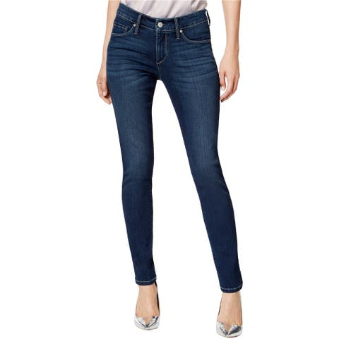 Vintage America Womens Wonderland Skinny Fit Jeans, Blue, 6