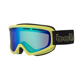 Bolle Unisex Schuss, Shiny Lime/Green Emerald, One Size - shiny red/sunrise