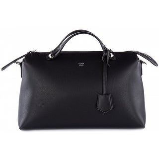 FENDI 'Large by The Way' Convertible Leather Shoulder Bag - Black - 7x12.5x6