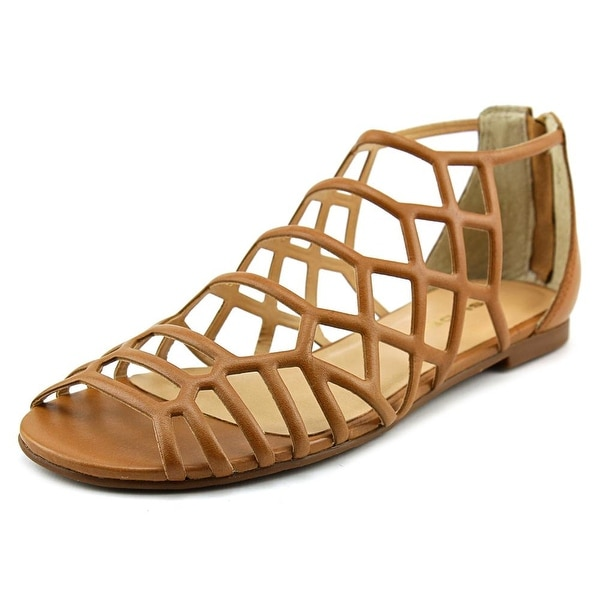 J/Slides Alex Women  Open Toe Leather  Gladiator Sandal