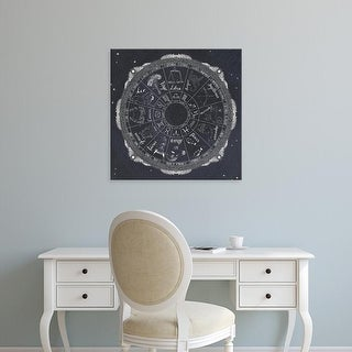 Easy Art Prints Sara Zieve Miller's 'Night Sky Zodiac' Premium Canvas Art