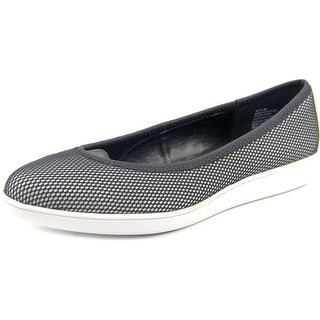 Nine West Luvintrist Pointed Toe Canvas Flats