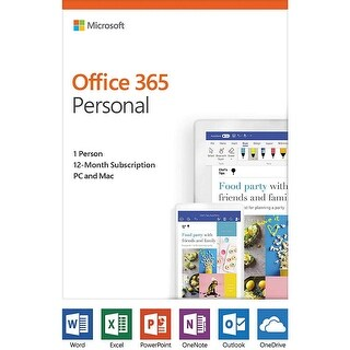 Microsoft Office 365 Personal QQ2-00728 Office 365 Pesonal Software