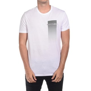 Versace Jeans Couture Men's VJC Logo Cotton T-Shirt White