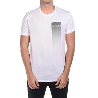 Versace Jeans Couture Men's VJC Logo Cotton T-Shirt White