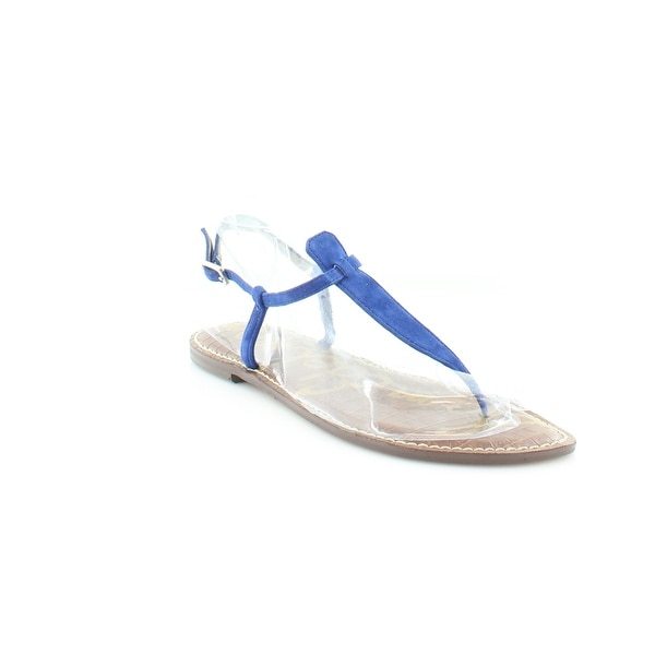 ad0d1e0cb0844 Shop Sam Edelman Gigi Women s Sandals Blue - Free Shipping On Orders ...