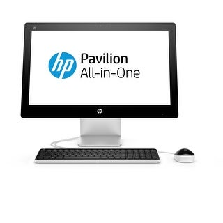 "Manufacturer Refurbished - HP Pavilion 23-Q113W 23"" Touch AIO Desktop Intel i3-4170T 3.2GHz 6GB 1TB Win10"