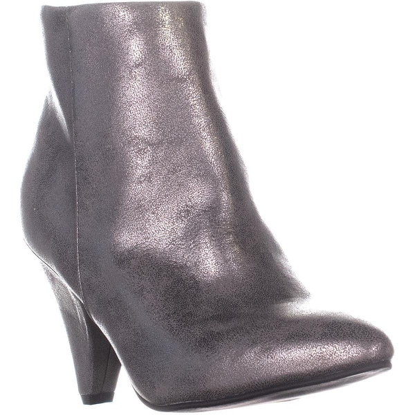 e0d0d2174a45 Shop Seven Dials Calzada Pointed Toe High Ankle Boots, Pewter - 7.5 ...
