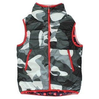 Nike Girls Alliance Graphic Reversible Vest Red - red/grey/purple - M
