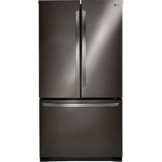 LG LFCS25426 36 Inch Wide 25.4 Cu. Ft. Energy Star French Door Refrigerator with