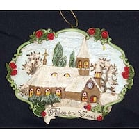 "John Grossman ""Peace On Earth"" Christmas Ornament #W7251"