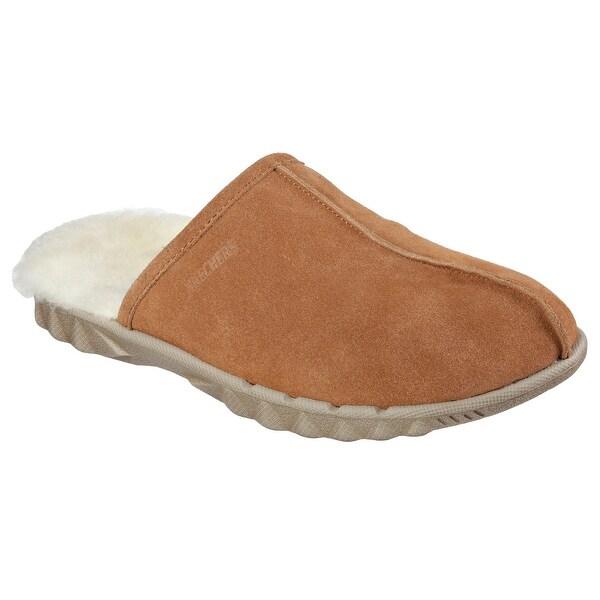 Skechers 64950 TAN Men's TRIDE Slipper