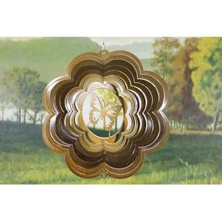 """8"""" Copper Butterfly Wind Spinner"""