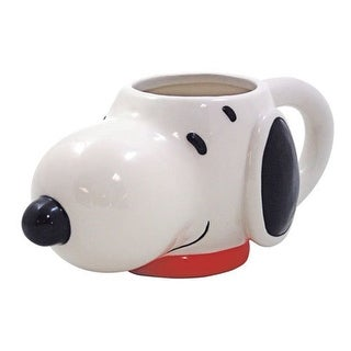 Peanuts Snoopy Molded Head 15 oz Ceramic Mug - Multi