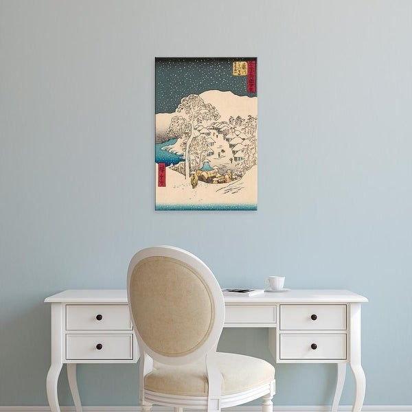 Easy Art Prints Unknown's 'Iconic Japan IX' Premium Canvas Art
