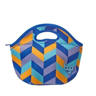 BUILT NY BYO Rambler Neoprene Lunch Bag, Mod Chevron