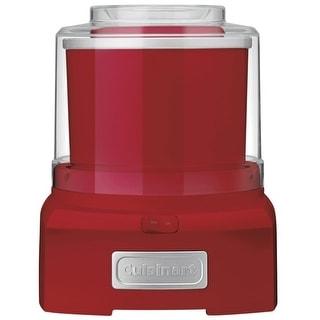 Cuisinart ICE-21R Electric Ice Cream Maker, 1.5 Quart, Red