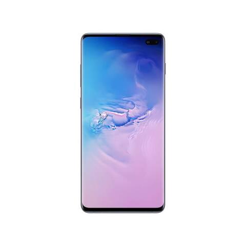 Refurbished Samsung Galaxy S10 Plus + 128GB Fully Unlocked Prism Blue - Prism Blue