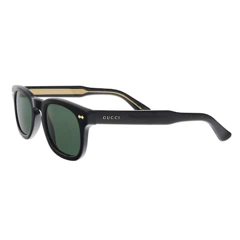 GUCCI GG0182S 002 Black Square Sunglasses