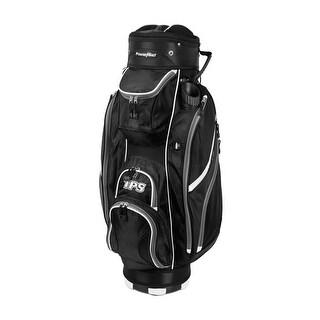 Powerbilt TPS 5400 Black/Black Cart Golf Bag