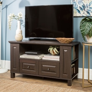 Link to Middlebrook Designs 44-inch Espresso TV Storage Console Similar Items in TV Stands & Entertainment Centers