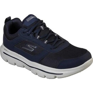 Skechers Men's GOwalk Evolution Ultra Enhance Walking Shoe Navy/Gray