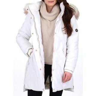 Jessica Simpson Womens Parka Coat Water Resistant Winter